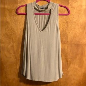 CUT OUT TANK TOP!!